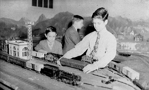 Then On August 31 1953 The Train Clubs Layout With Its Picturesque Background Became National News When Photograph Below Appeared In Education